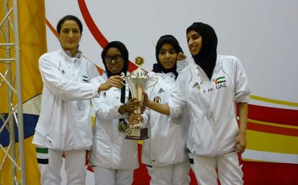GCC Fencing Championship in Bahrain 24-26 November, 2011